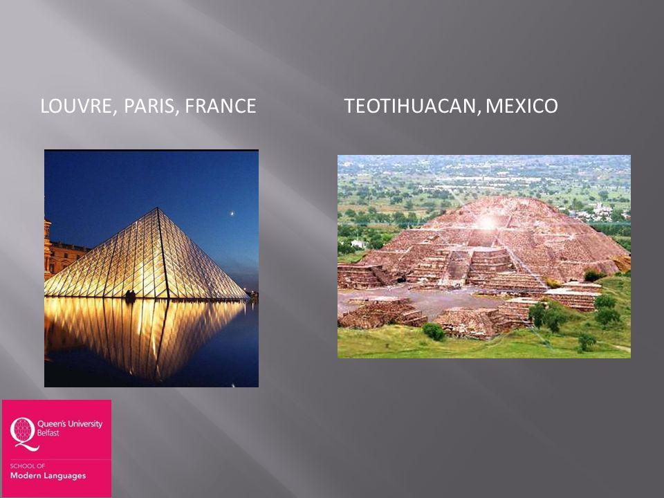LOUVRE, PARIS, FRANCETEOTIHUACAN, MEXICO