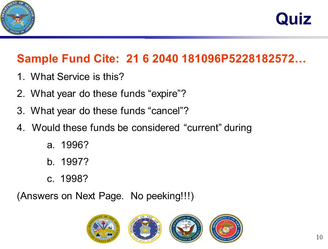 10 Quiz Sample Fund Cite: 21 6 2040 181096P5228182572… 1.