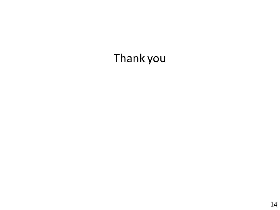 Thank you 14