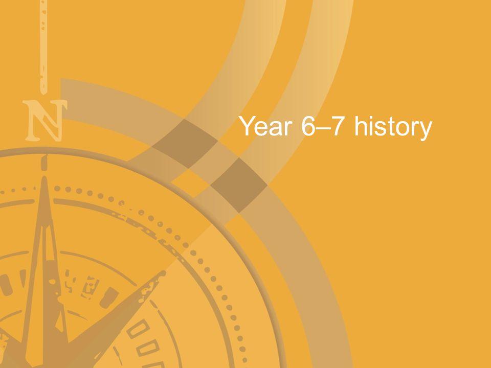 Year 6–7 history