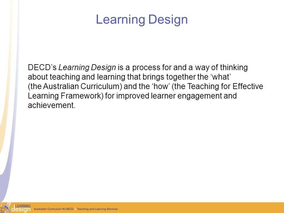 Use existing learning teams and PLCs Shared thinking about the big ideas, concepts, skills and understandings in the Australian Curriculum enables effective planning processes that are intentional in their design and responsive to the learners in the class.