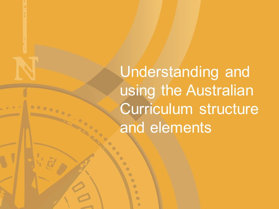 The Australian Curriculum structure The key to successful learning design is to use each aspect of the Australian Curriculum (See Understanding the AC PowerPoint) rationale strand overviews year level statements content descriptors achievement standards general capabilities and cross-curriculum priorities to identify the big ideas, concepts, skills and understandings that link the curriculum across year levels.