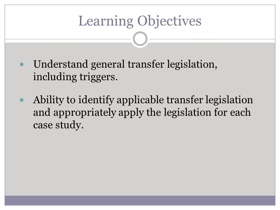 General Transfer Legislation A student who transfers from one collegiate institution to another collegiate institution must complete one full academic year in residence before being eligible to compete.