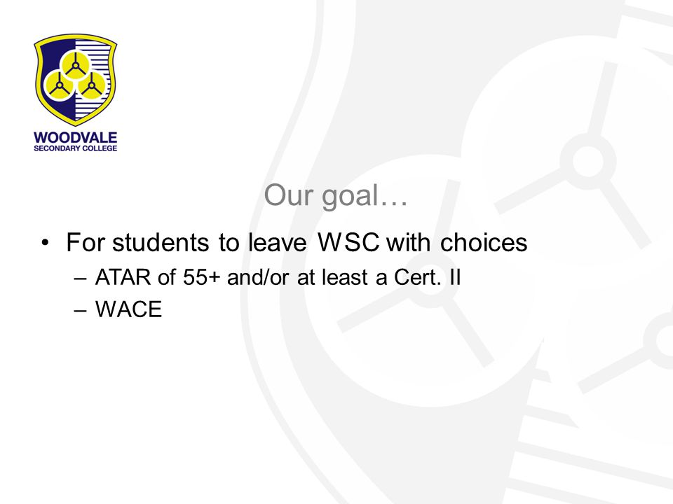What is the WACE.