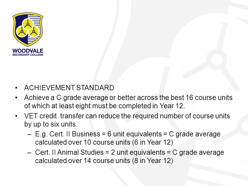 Our policies… Repeating Study Zones Continuation of courses in to Year 12 Attainment – ATAR or Cert.