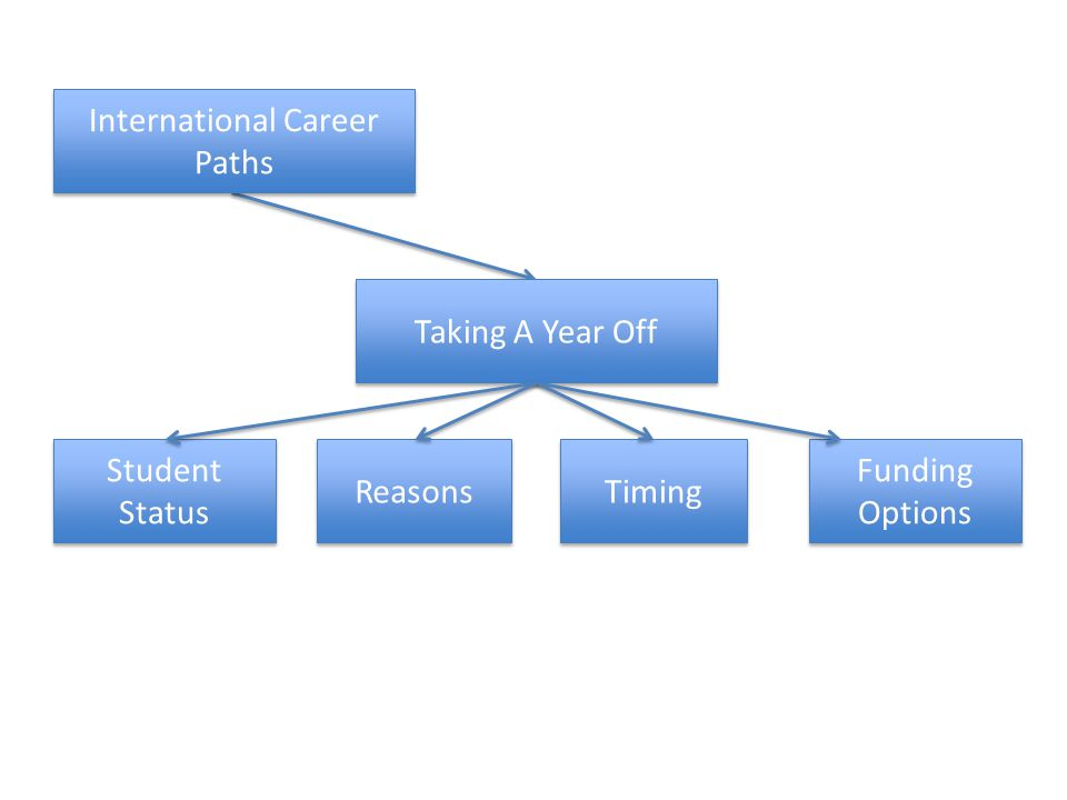 Taking A Year Off Funding Options Student Status Timing International Career Paths Reasons