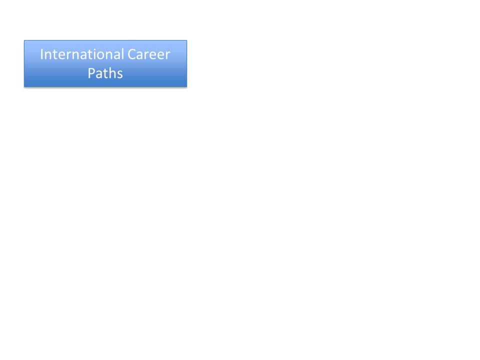 International Career Paths