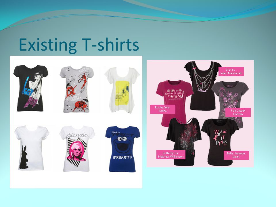 Existing T-shirts