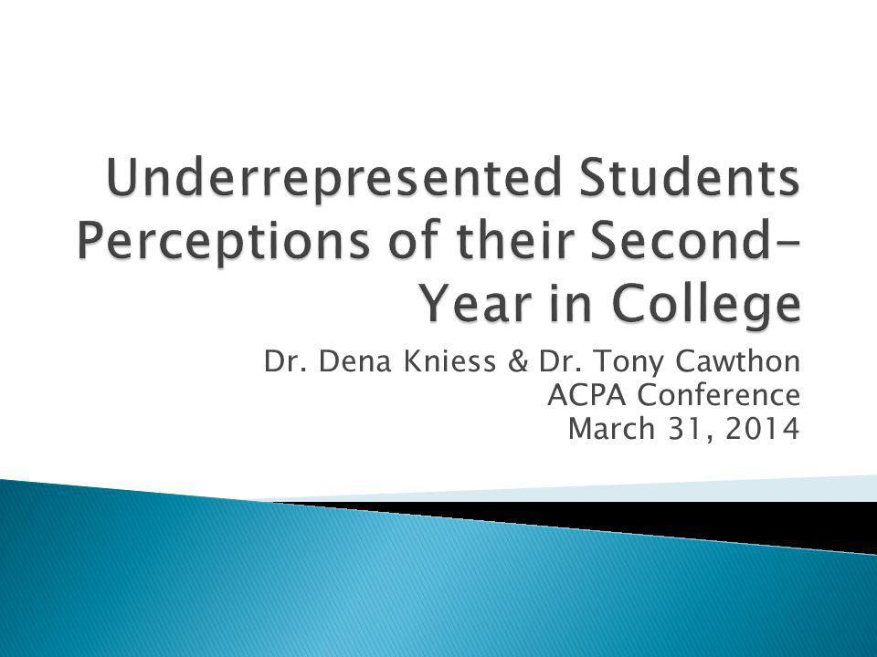 Get into groups of 4-5 with individuals around you Talk about the second-year experience at your institution: How would your student population describe their second year.
