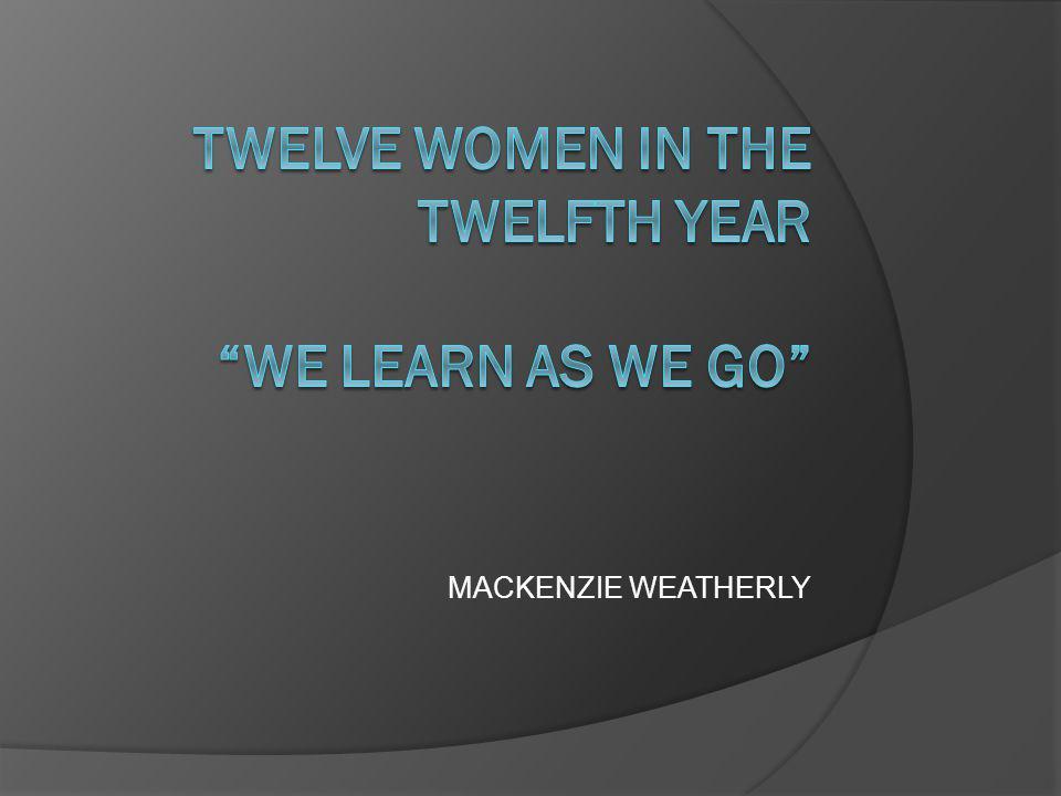 MACKENZIE WEATHERLY