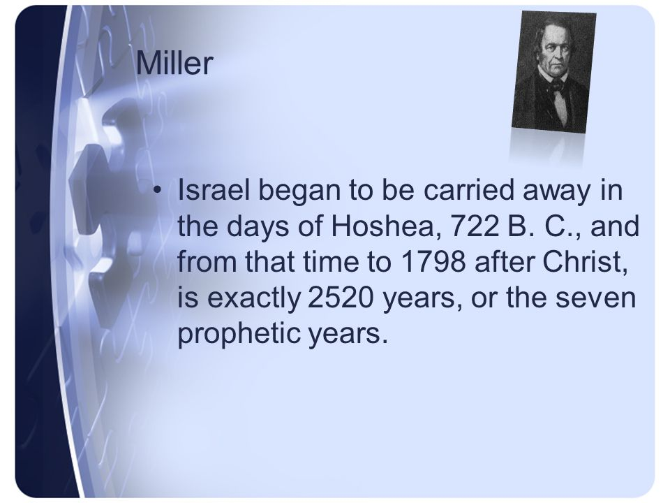 Miller Jeremiah xv.4, - And I will cause them to be removed into all kingdoms of the earth, because of Manasseh, the son of Hezekiah, king of Judah, for that which he did in Jerusalem, - tells us of the same thing, that Judah as well as Israel must be made captives.