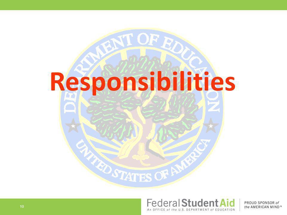 Responsibilities 10
