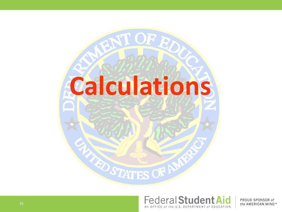 Calculations 15