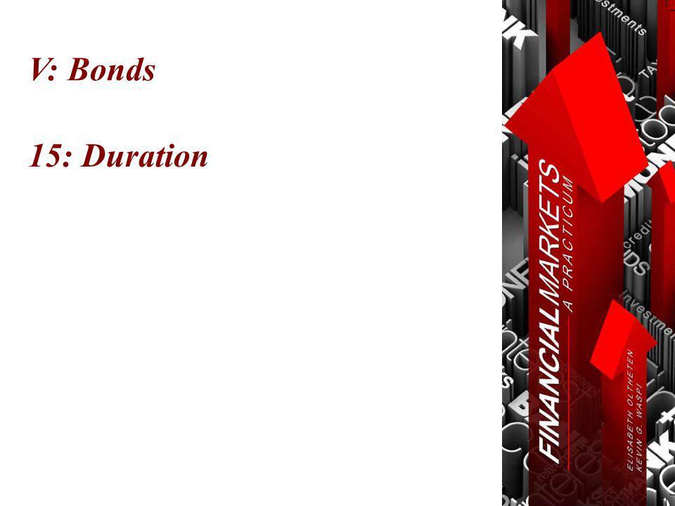 V: Bonds 15: Duration