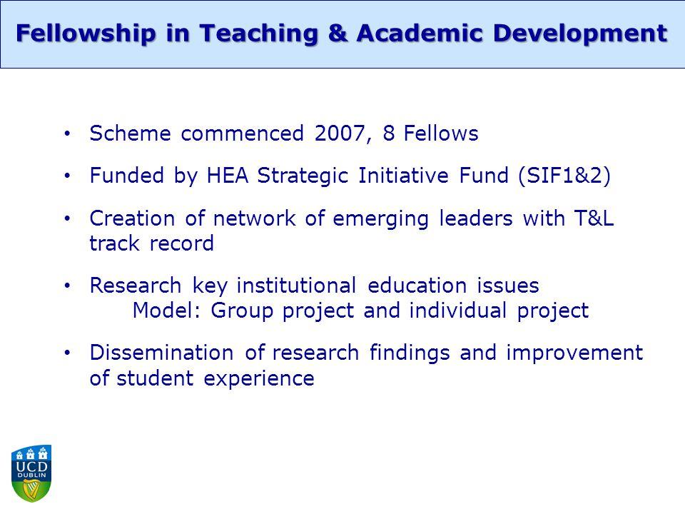 Group Project: First Year Experience Fellows Team: Niamh Moore, Sara OSullivan, Feargal Murphy & Amanda Gibney Fellowship in Teaching & Academic Development Findings Gibney, A., Moore, N., Murphy, F.