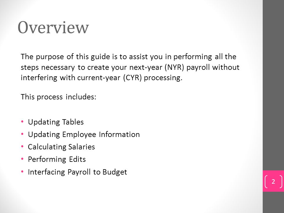 Benefits of Next-Year Payroll Get a head start on updating data for the 2014-2015 school year.