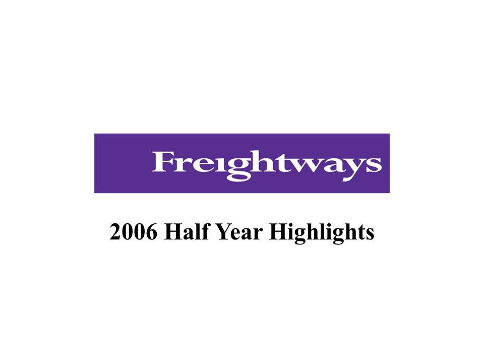 2006 Half Year Highlights