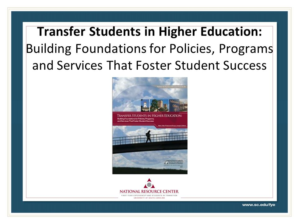 We Know That … community colleges will play a central role in improving educational access for increasing numbers of U.S.