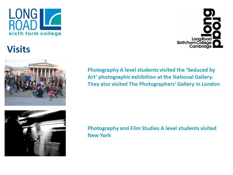 Photography A level students visited the Seduced by Art photographic exhibition at the National Gallery.