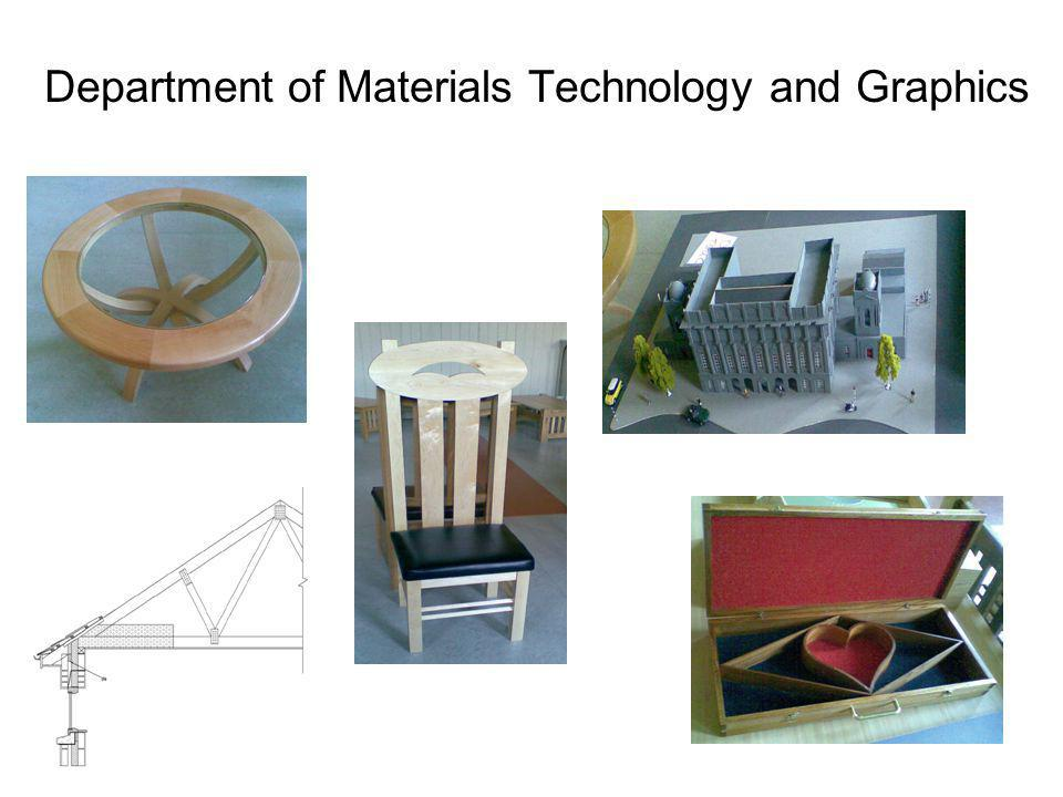 Department of Materials Technology and Graphics
