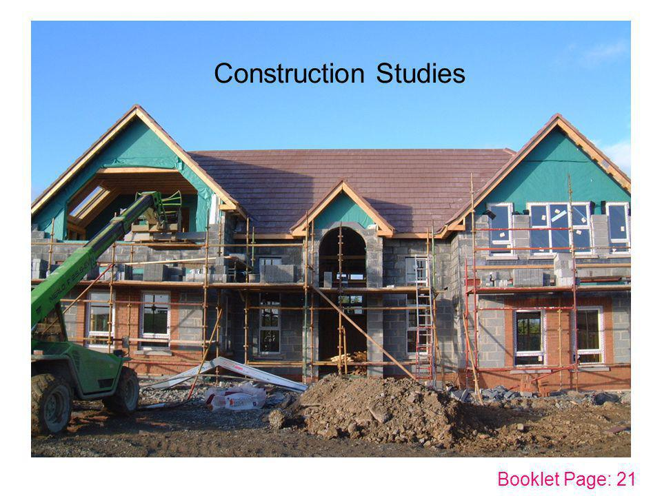 Construction Studies Booklet Page: 21