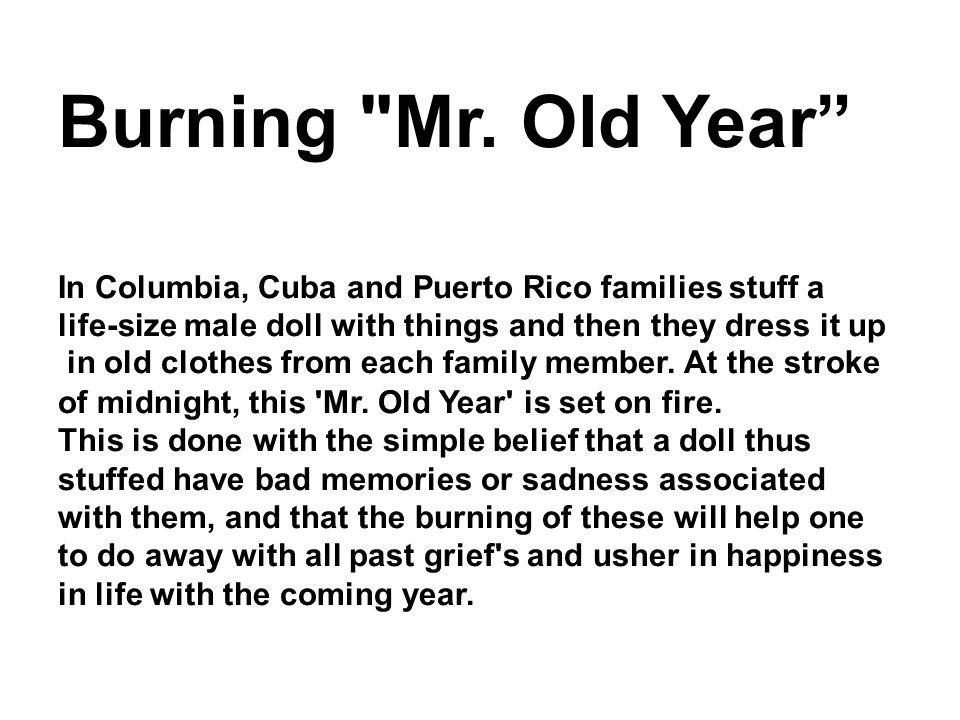 Burning Mr.