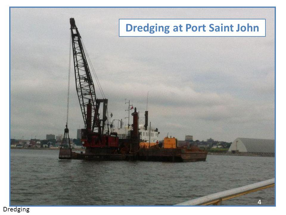 Dredging at Port Saint John 4 Dredging