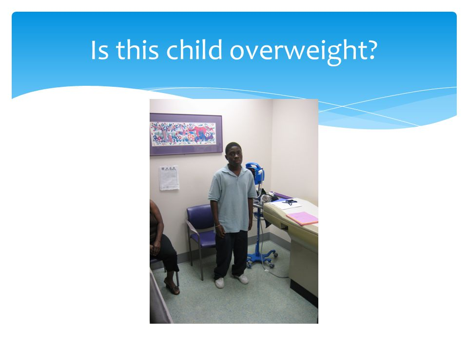 Is this child overweight?