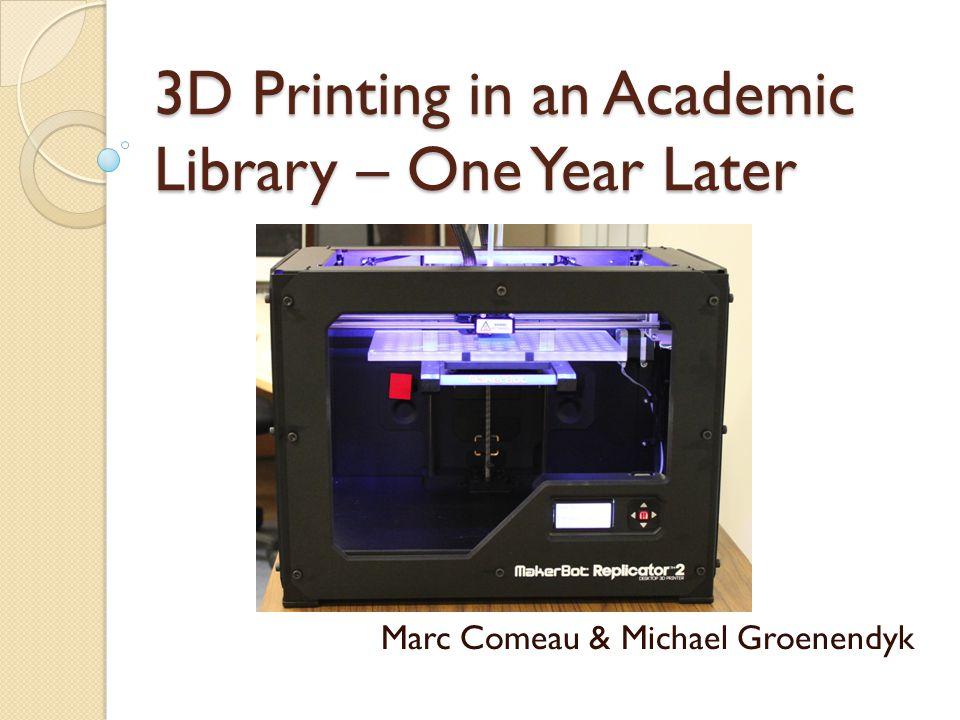 3D Printing?