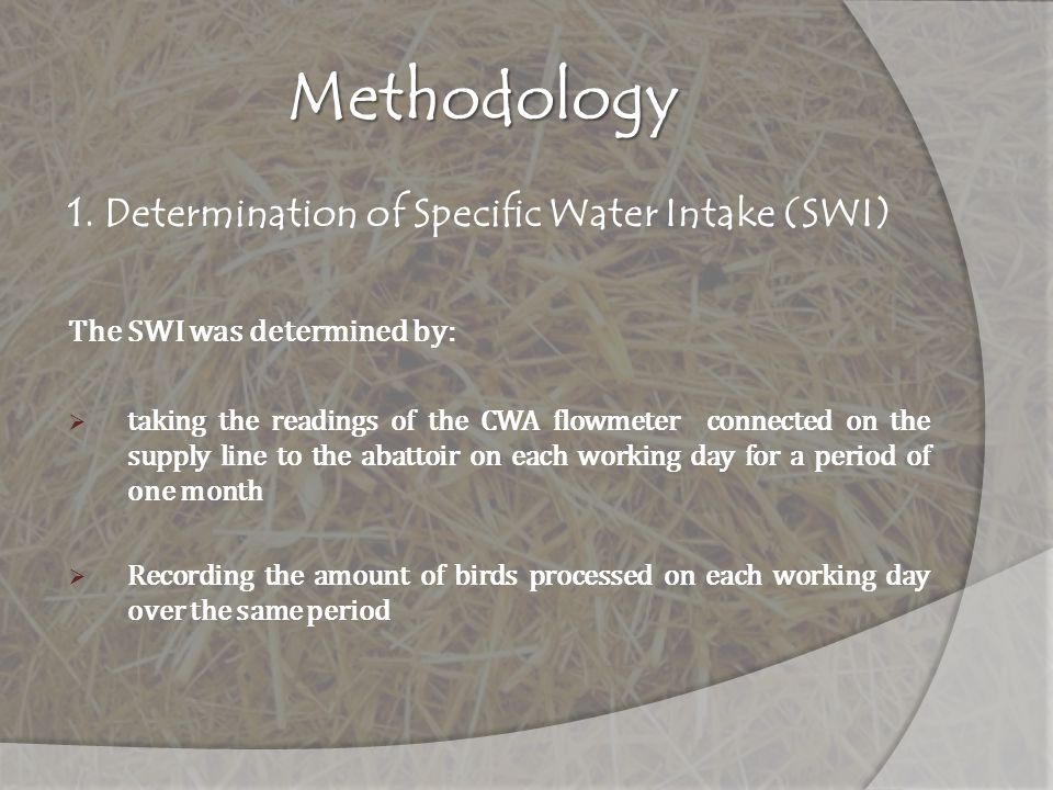2. Characterization of Wastewater Streams Poultry Abattoir Sewer Map showing sampling locations
