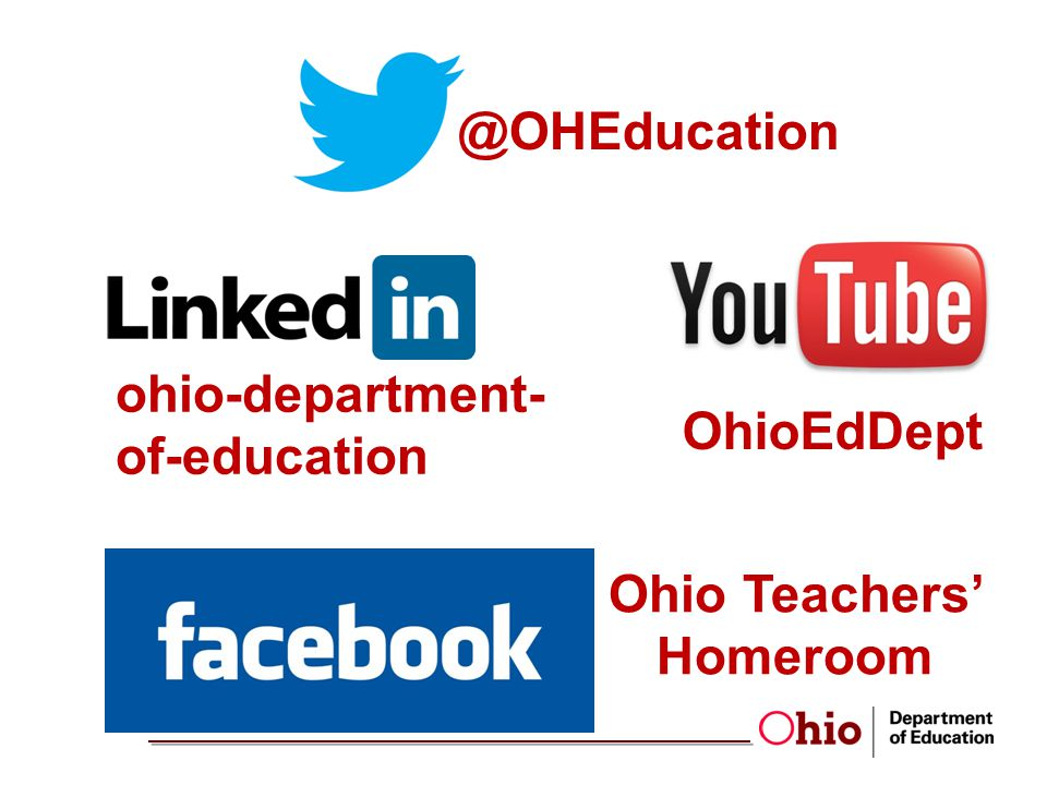 @OHEducation Ohio Teachers Homeroom OhioEdDept ohio-department- of-education
