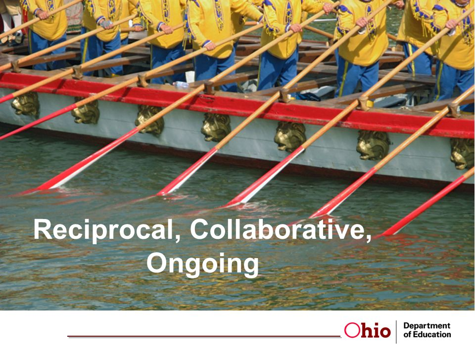 Reciprocal, Collaborative, Ongoing