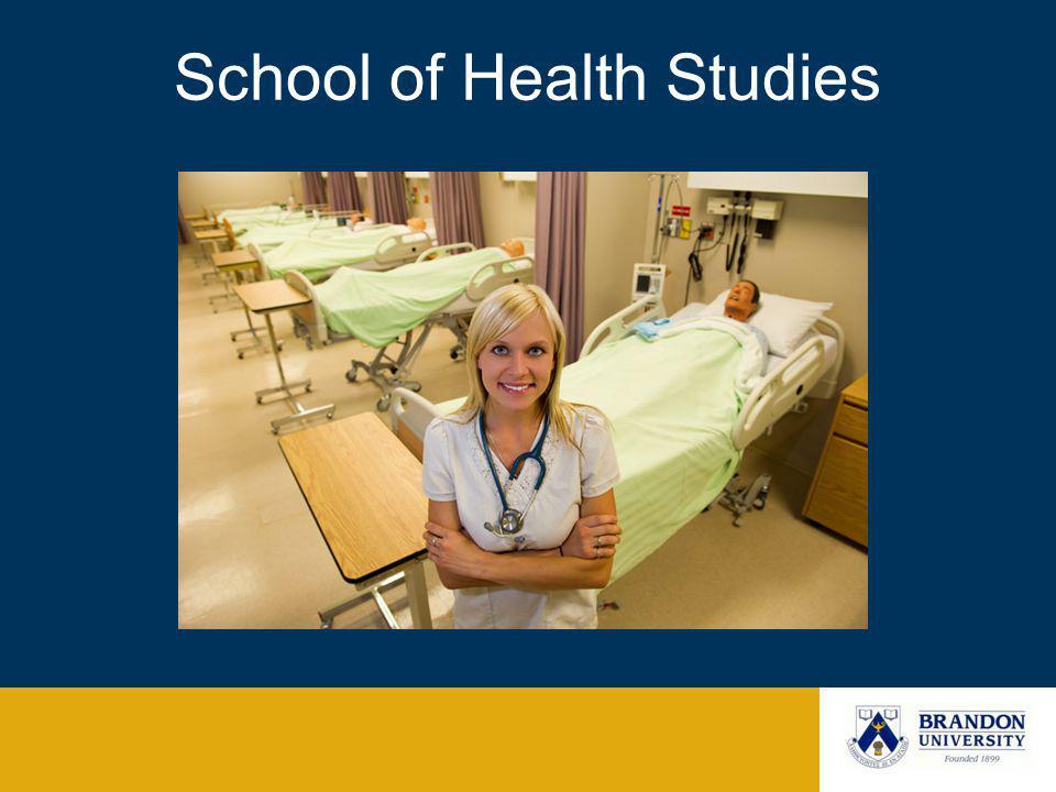 School of Health Studies