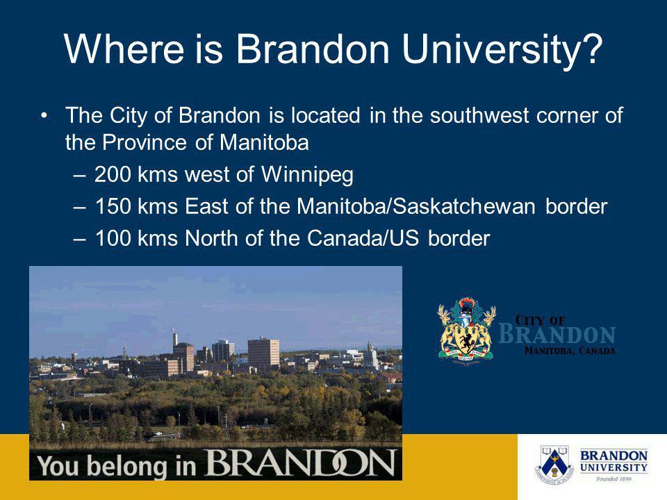 Where is Brandon University.