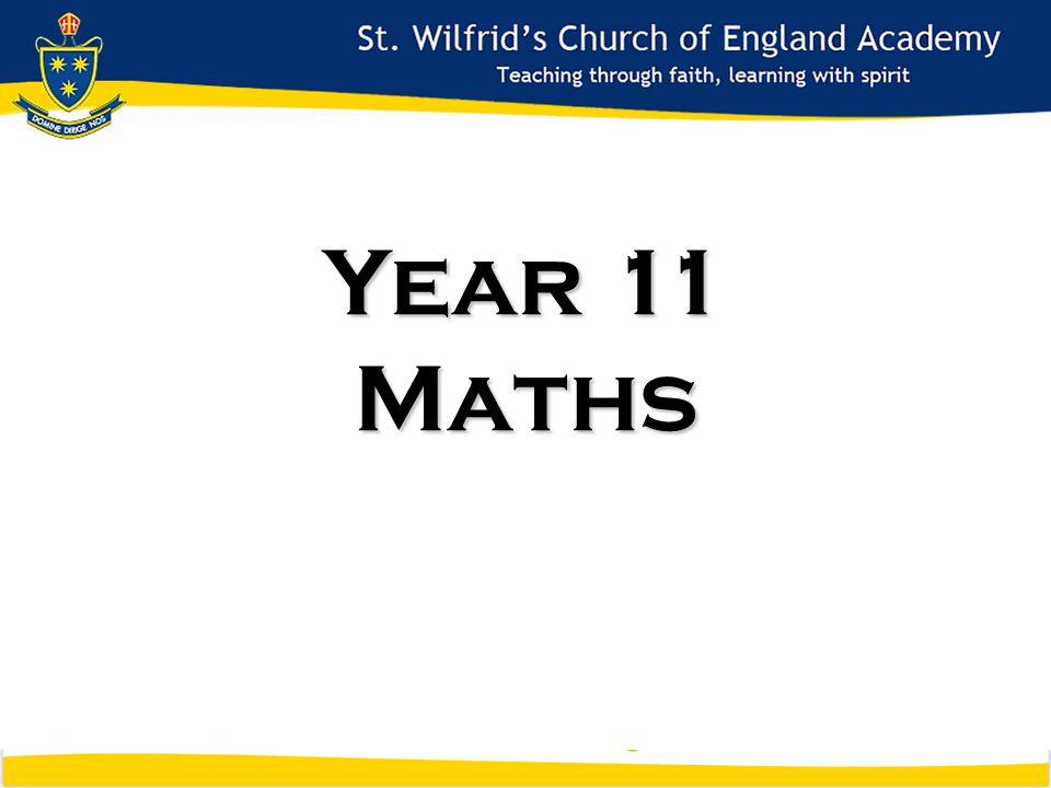 Year 11 Maths