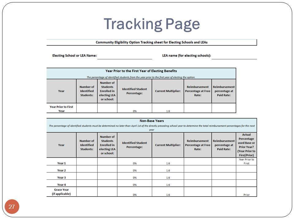 Tracking Page 27