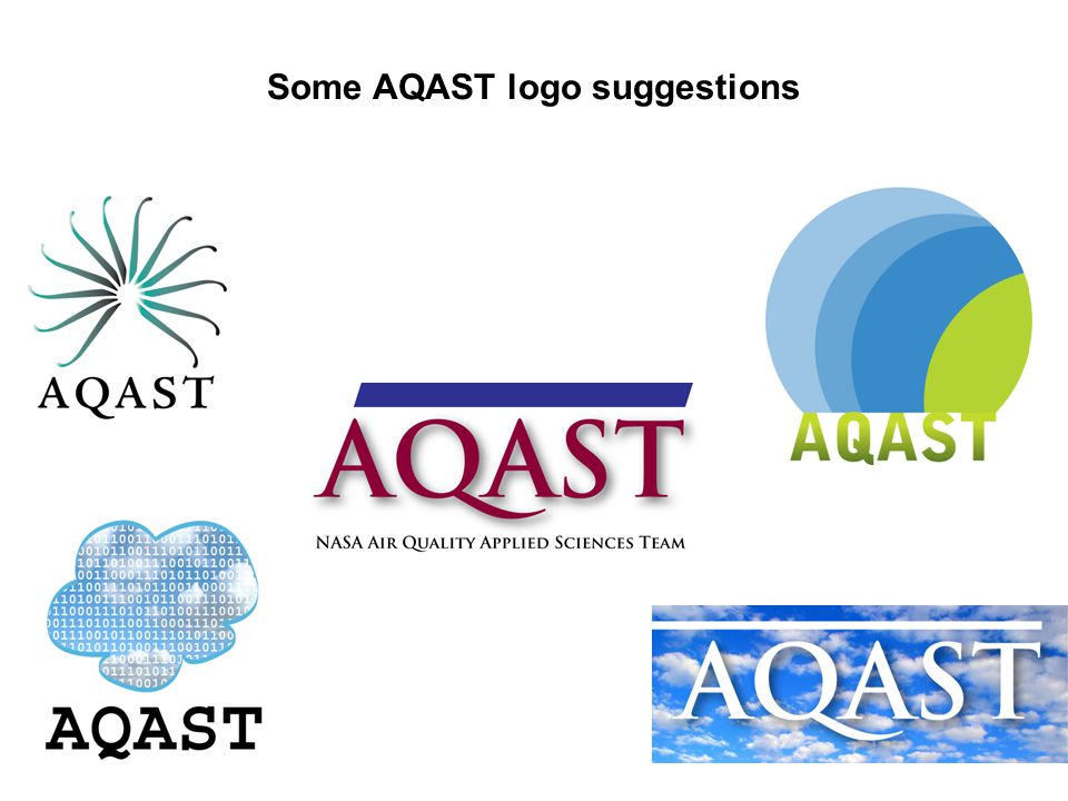 Some AQAST logo suggestions