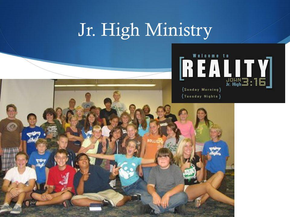 Jr. High Ministry
