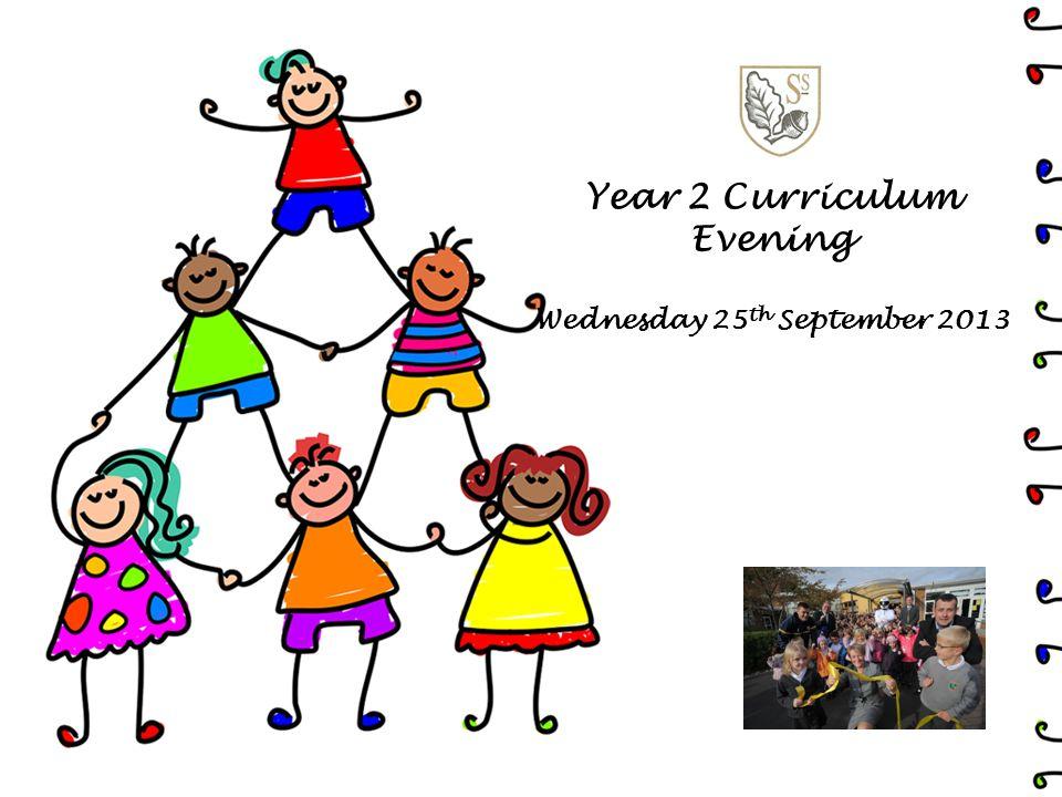 Year 2 Curriculum Evening Wednesday 25 th September 2013