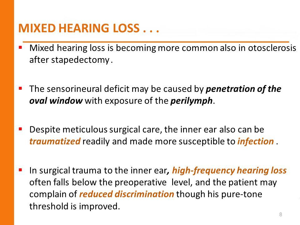 CENTRAL HEARING LOSS...