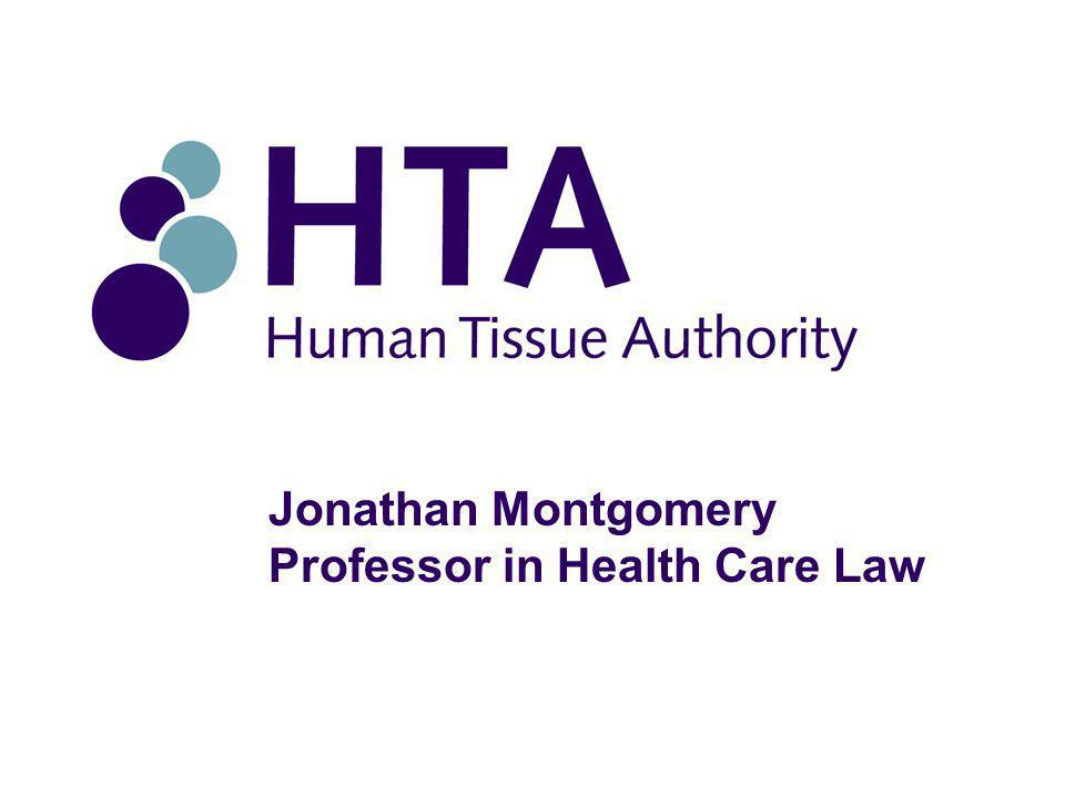 Jonathan Montgomery Professor in Health Care Law