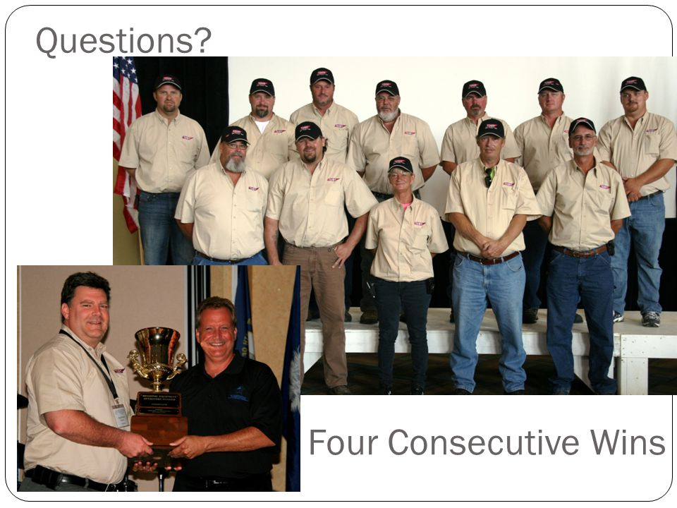 Questions Four Consecutive Wins