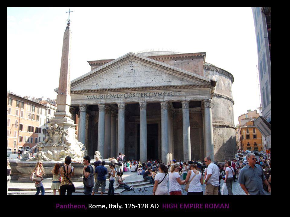Pantheon, Rome, Italy. 125-128 AD HIGH EMPIRE ROMAN