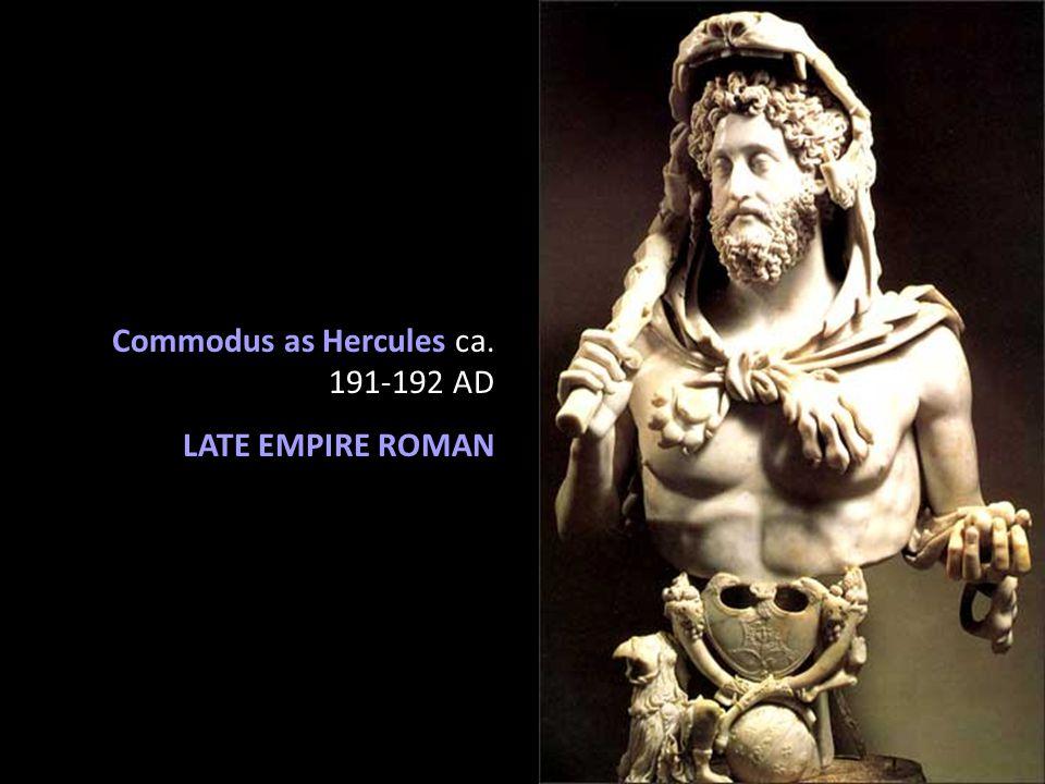 Commodus as Hercules ca. 191-192 AD LATE EMPIRE ROMAN