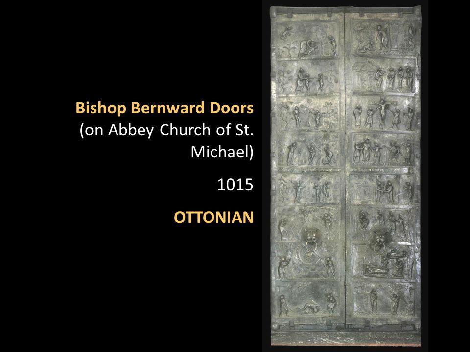 Bishop Bernward Doors (on Abbey Church of St. Michael) 1015 OTTONIAN