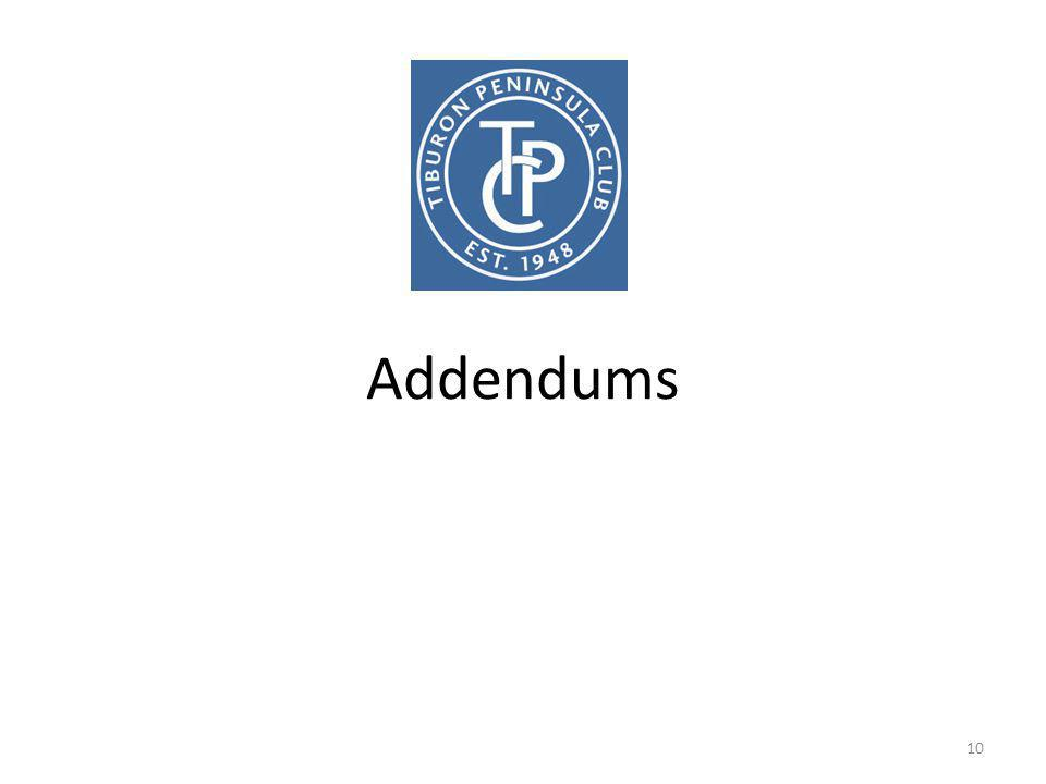 Addendums 10