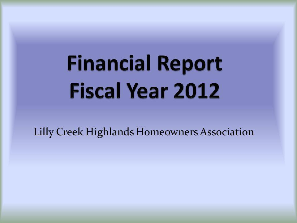 LCHA Website is located at: WWW.LILLYCREEKHIGHLANDS.COM THANK YOU FOR COMING