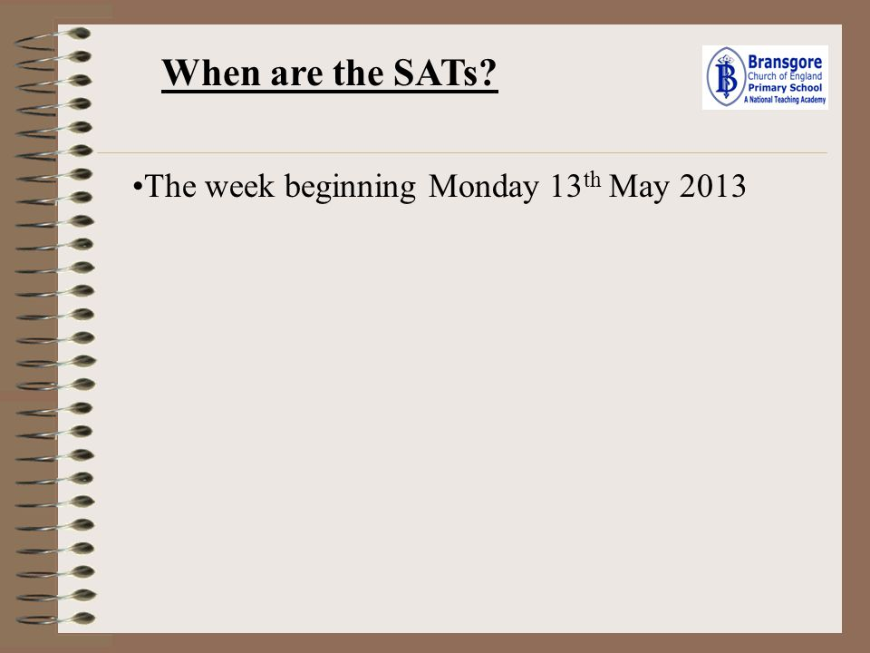 What are the changes to the SATs from previous years.