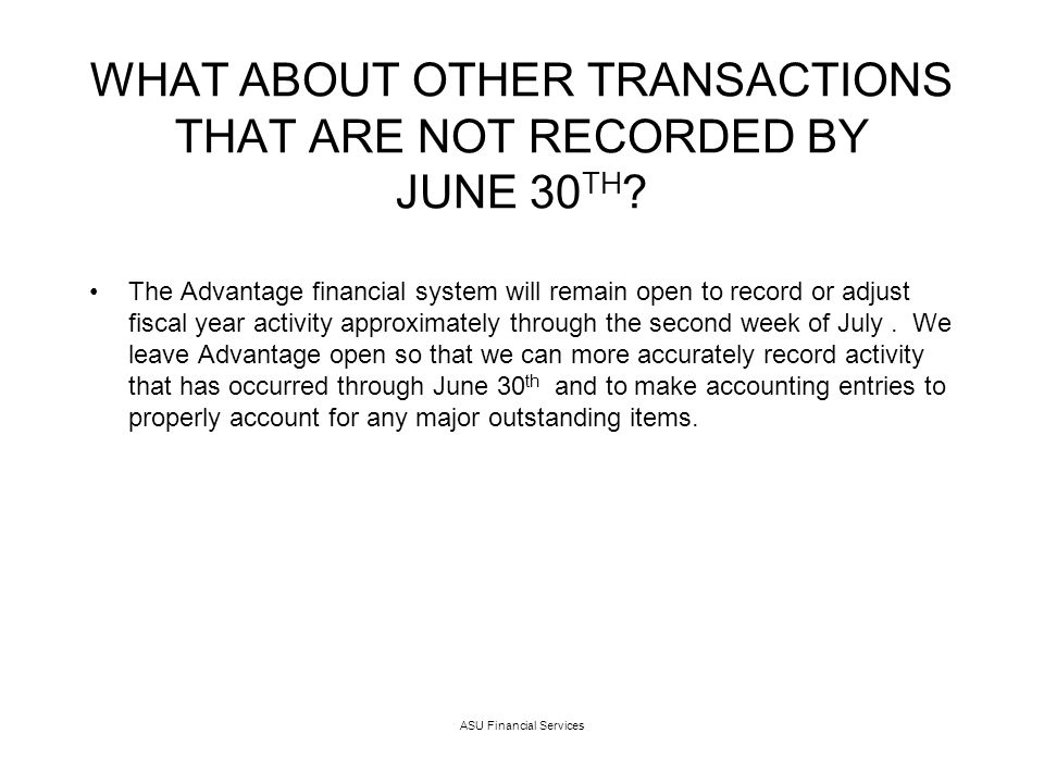 As of July 5 th the state balances on the Advantage APP2 screen are no longer accurate.