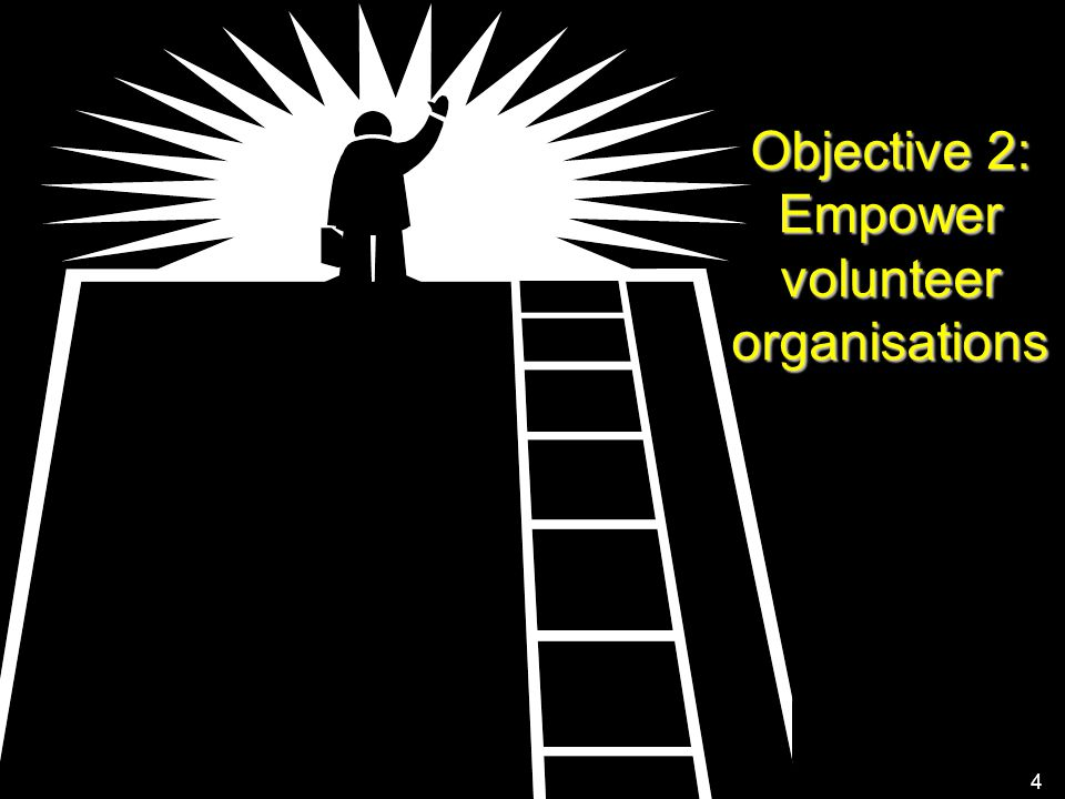 European Commission – Directorate-General Communication 4 Objective 2: Empower volunteer organisations 4